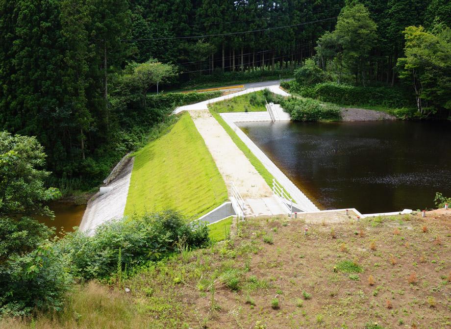 ため池改修工事